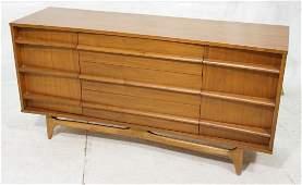 American Modern Credenza Sideboard Cabinet. Conc