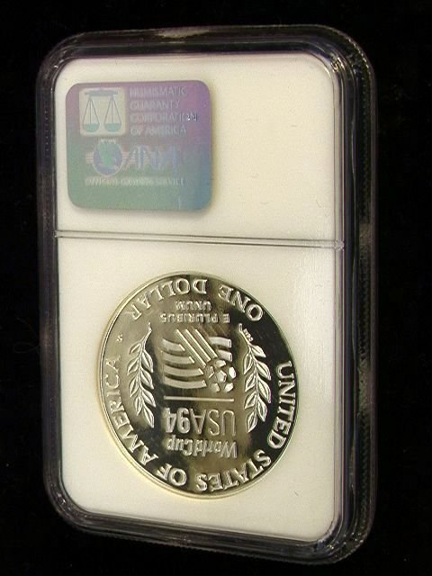2041: 1994-S World Cup Silver Dollar PF 69 ULTRA CAMEO  - 2