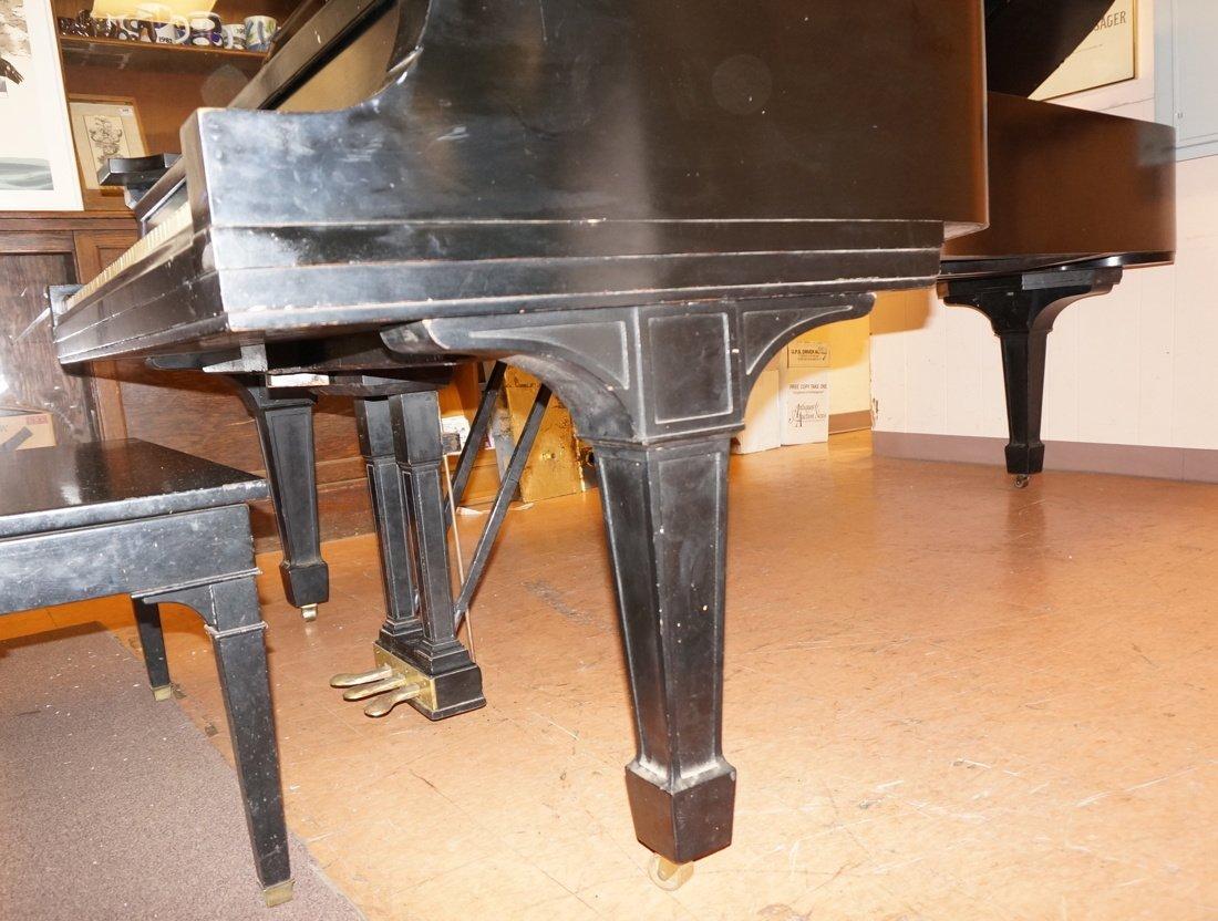 1928 STEINWAY Model D Grand Piano. Ebonized. - 4