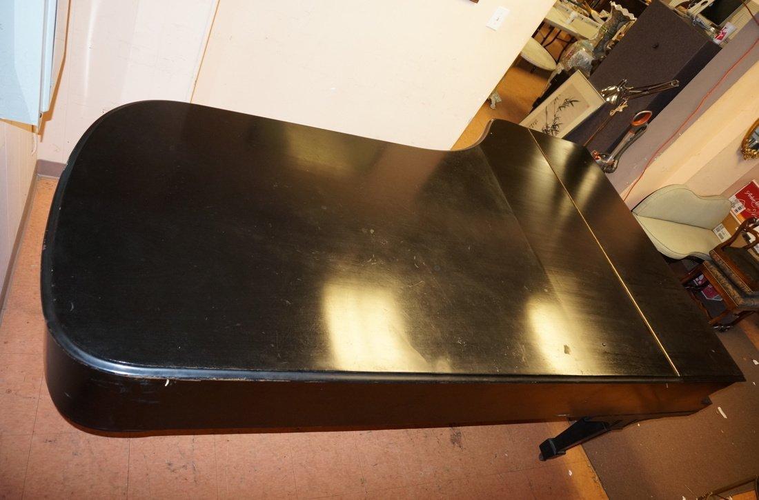 1928 STEINWAY Model D Grand Piano. Ebonized. - 6