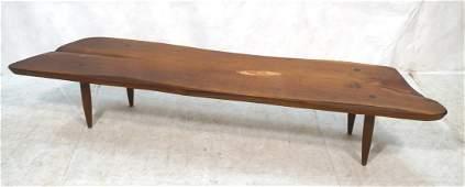 PHILLIP LLOYD POWELL American Walnut Coffee Table