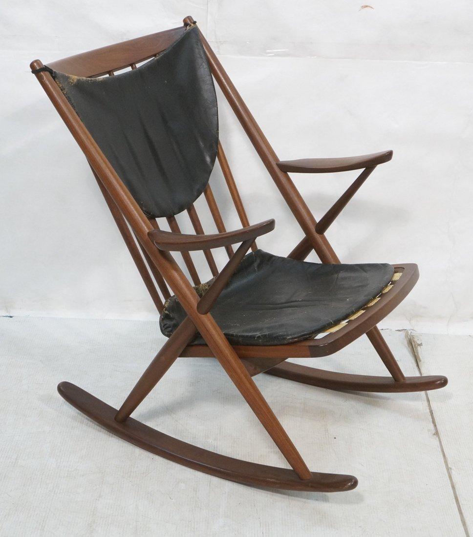 Frank reenskaug rocking chair - Frank Reenskaug Bramin Rocking Chair Rocker