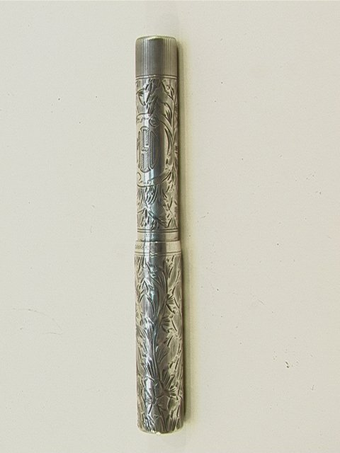 3: WATERMAN Sterling Ideal FOUNTAIN PEN  #452 1/2V. Eng