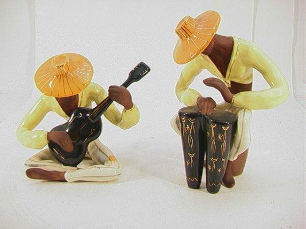 519: Pr MARC BELLAIRE Caribbean Musicians. Sgn'd.  Reta