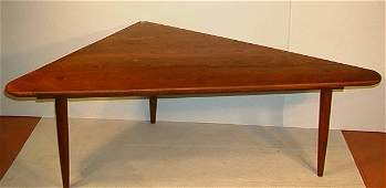 605 Wharton Esherick School Table and Benches  Large