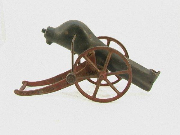 706: Young America Rapid Fire Gun Cannon  Cast iron