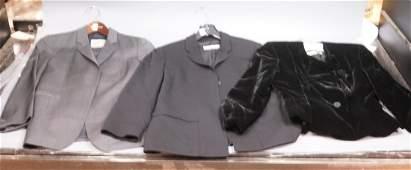 3pc ARMANI EMPORIO Ladies Jackets & Pants Suit. D