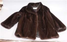 Ladies Short Mink Fur Jacket Car Coat Approx Si