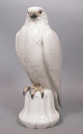 Royal Copenhagen Eagle Figural Porcelain Sculptur