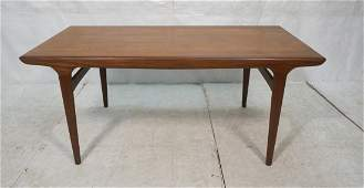 Danish Modern Dining Table. Refractory style. Bui
