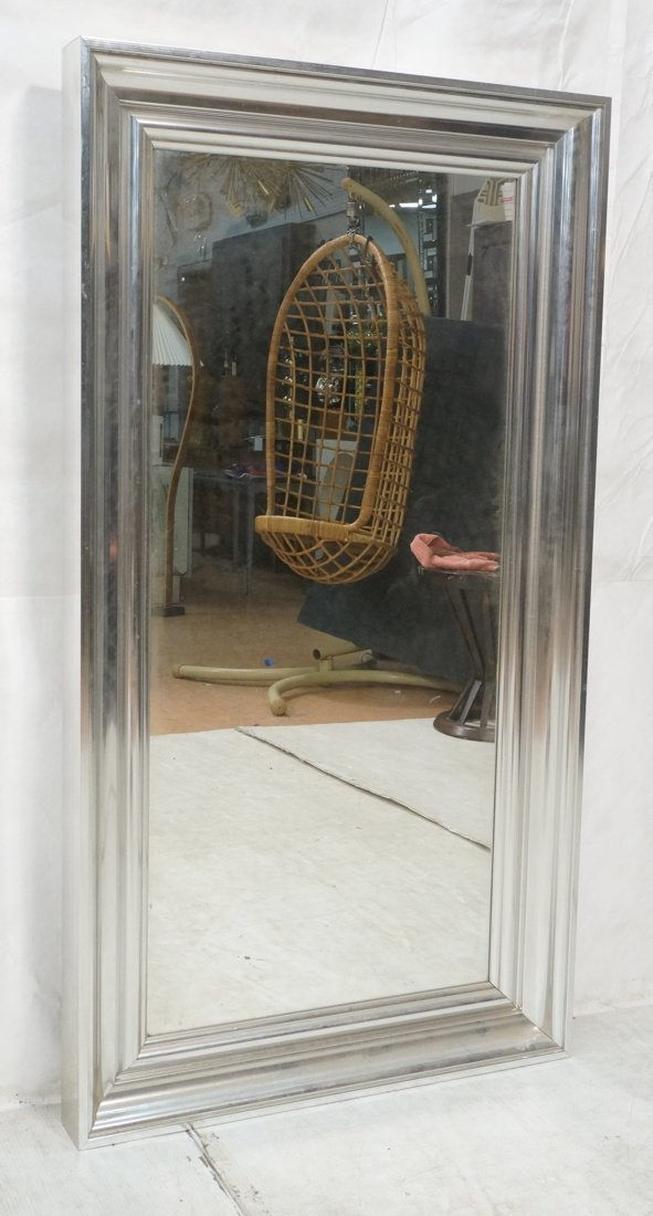 Large Decorator Hanging Wall Mirror. Wide ogee al
