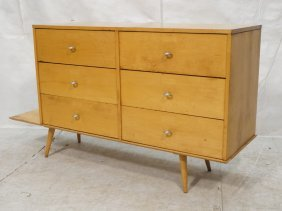 Paul Mccobb Planner Group Dresser With Bench Base