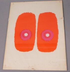Christa Hauer - Fruhmann Silkscreen Print 2/5. S