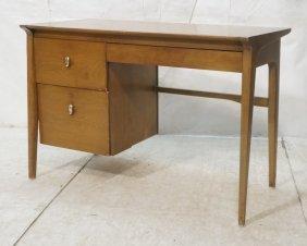 Drexel Profile 3 Drawer Desk. American Modern. U