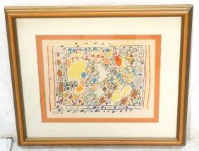 Pablo Picasso A Los Toros Lithograph Print.
