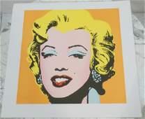 ANDY WARHOL MARILYN MONROE Lithograph Print 4850
