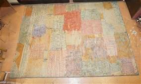 """11' x 8'2"""" EGE Paul Klee Inspired Shag Rug. EGE A"""
