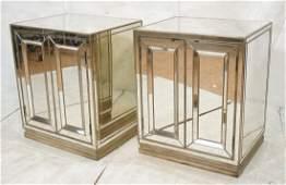 Pr HOOKER Furniture Modernist 2 Door Mirror Cabin