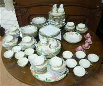 FRANCISCAN china set Made in California Hand de