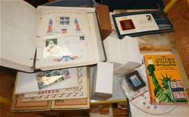 Large Stamp Collection of United States and forei