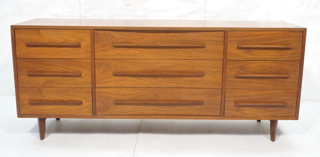 NAKASHIMA for WIDDICOMB Nine Drawer Dresser Sideb