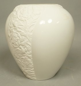 Rosenthal Germany Large Porcelain Modernist Vase.