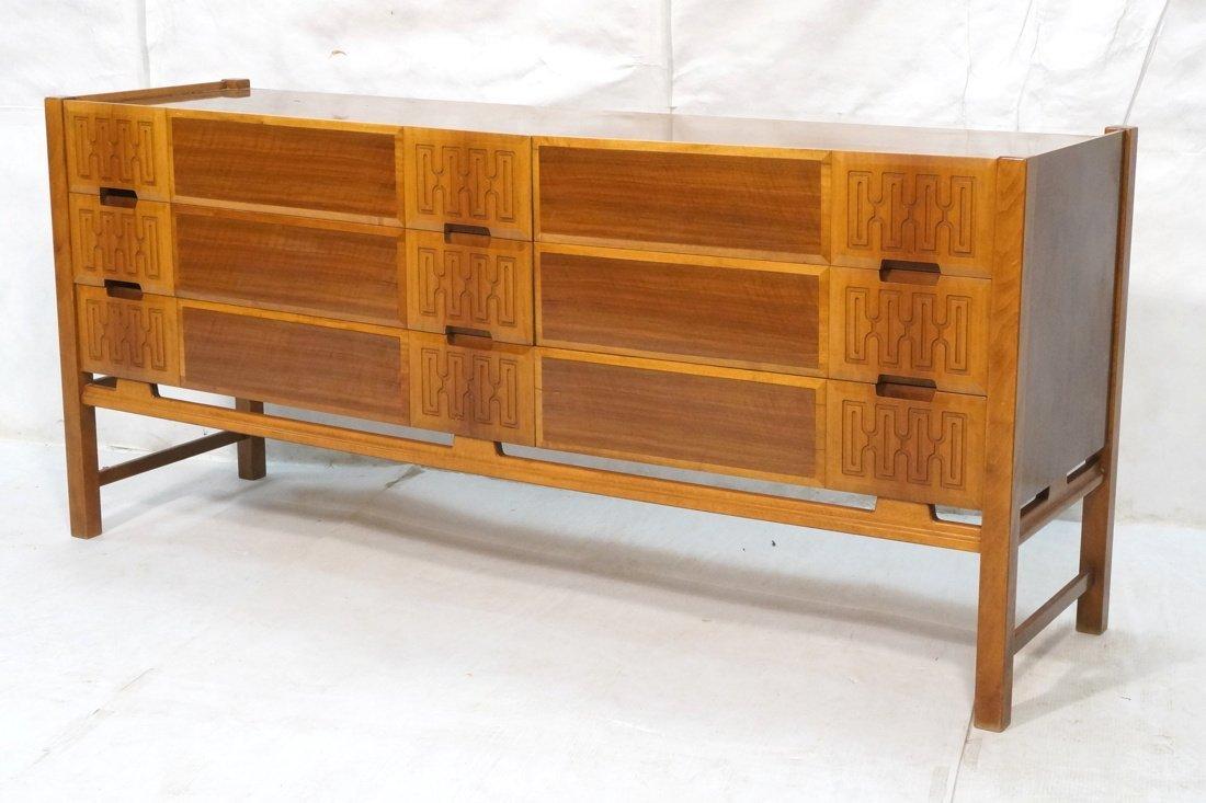 EDMUND SPENCE Six Drawer Dresser Credenza. Decora