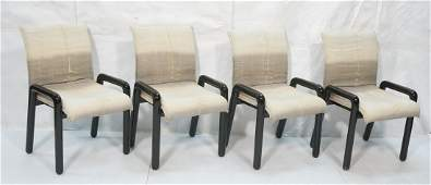 Set 4 MARIANI Pace Collection. Side Dining Chairs