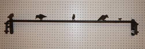 ILANA GOOR Inspired Metal Bird Wall Sculpture Fi