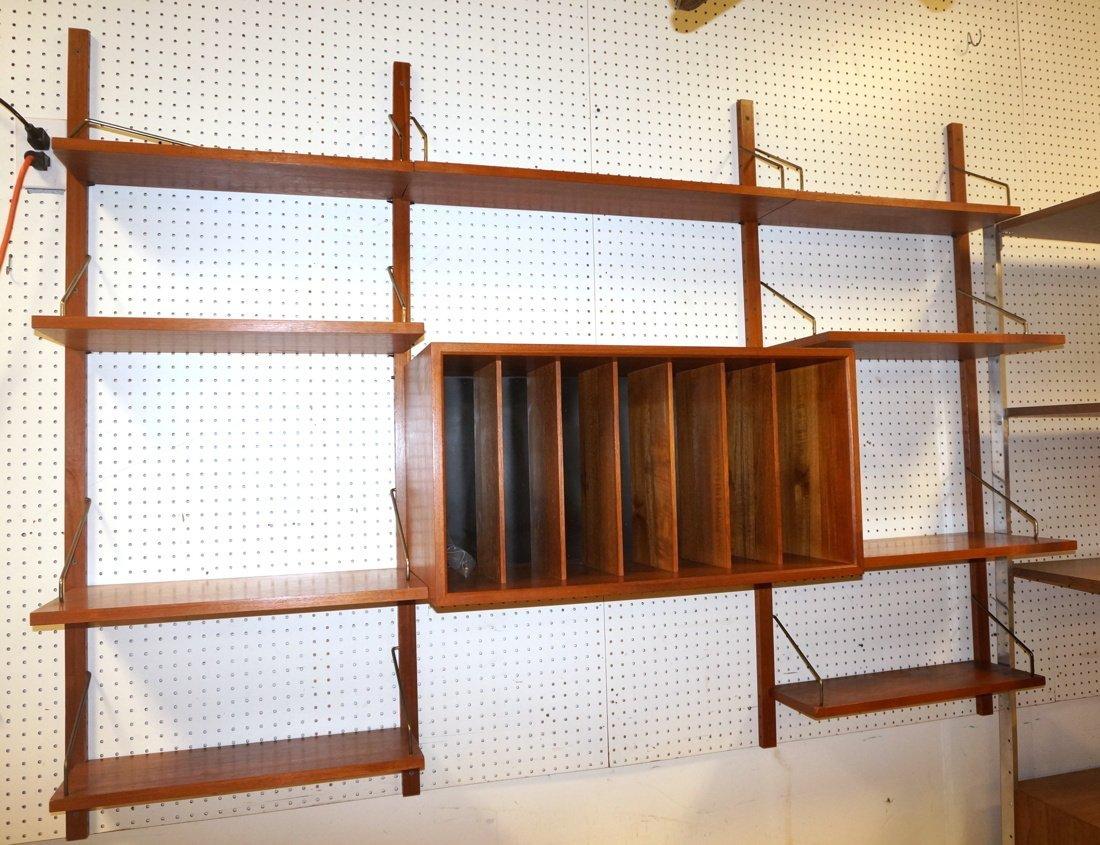 POUL CADOVIUS Cado Wall Unit. Four wood uprights.
