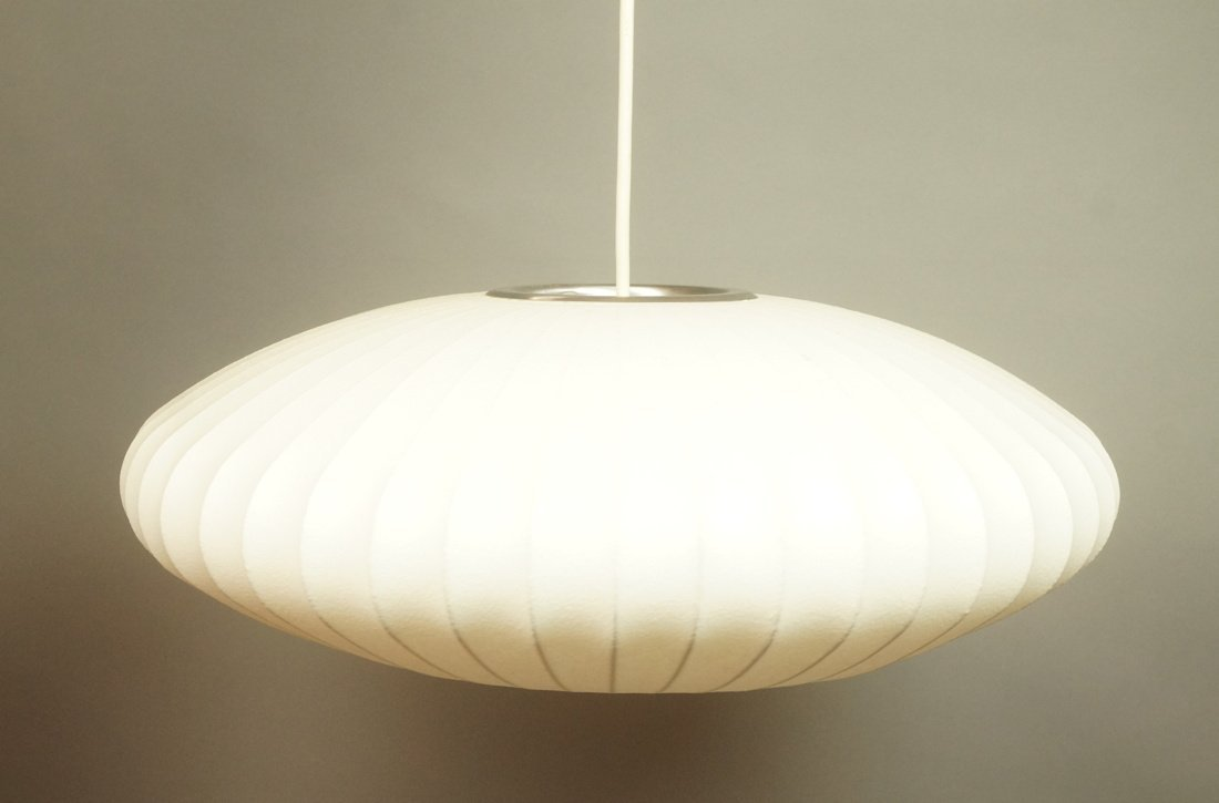 george nelson bubble lamp stretched
