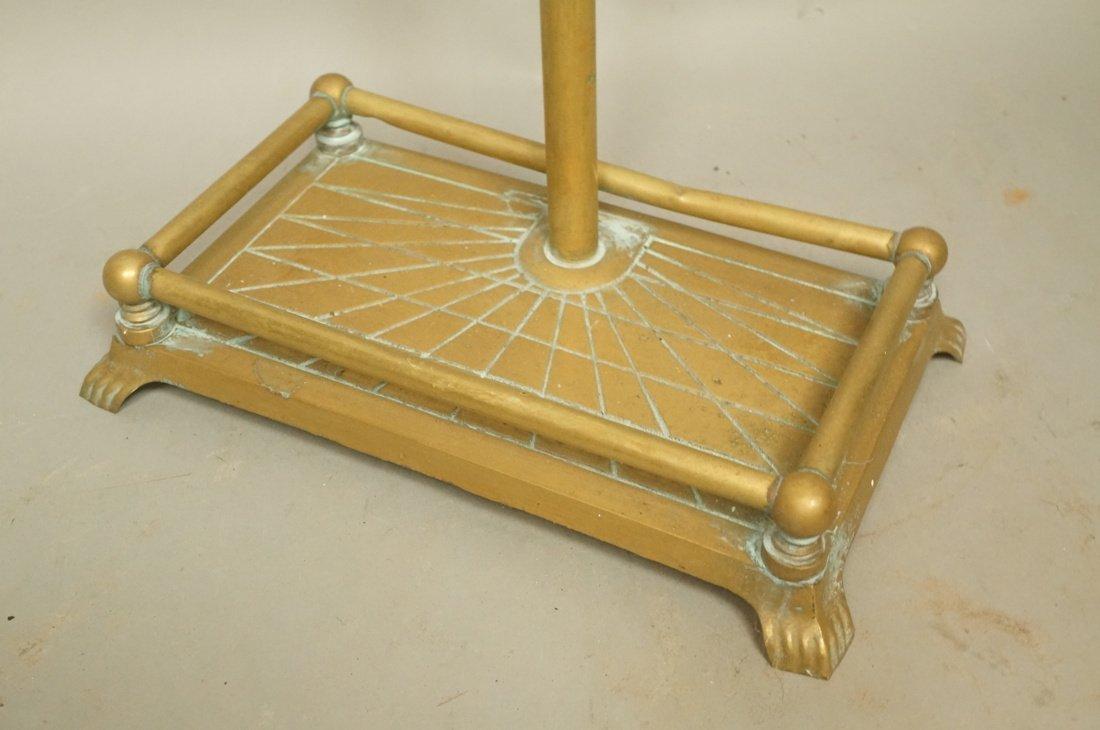 Set Brass Duck Head Fireplace Tools. Three Tools - 7