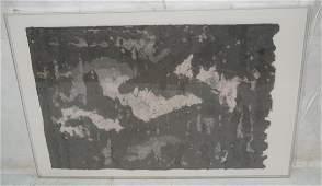 Van Dommelen A NEW WORLD Framed Handmade Paper Co