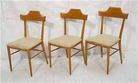 Set 3 PAUL McCOBB Side Dining Chairs PLANNER GRO
