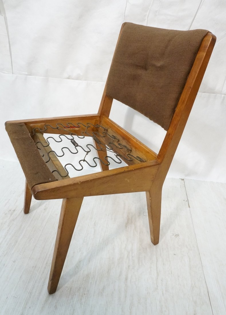 JENS RISOM for KNOLL Assoc Dining Side Chair . Br