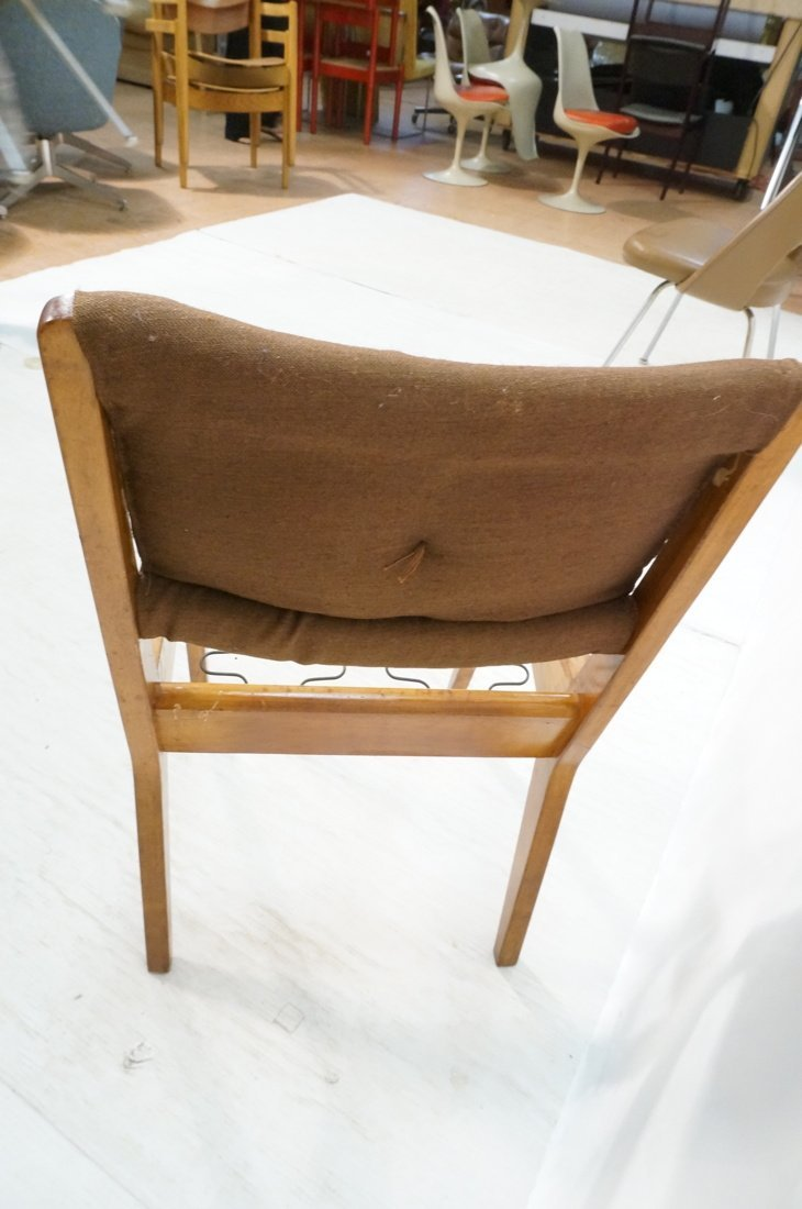 JENS RISOM for KNOLL Assoc Dining Side Chair . Br - 4