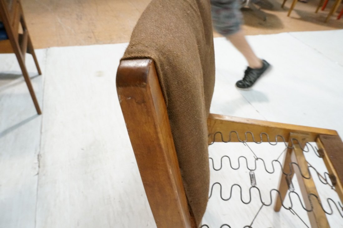 JENS RISOM for KNOLL Assoc Dining Side Chair . Br - 6