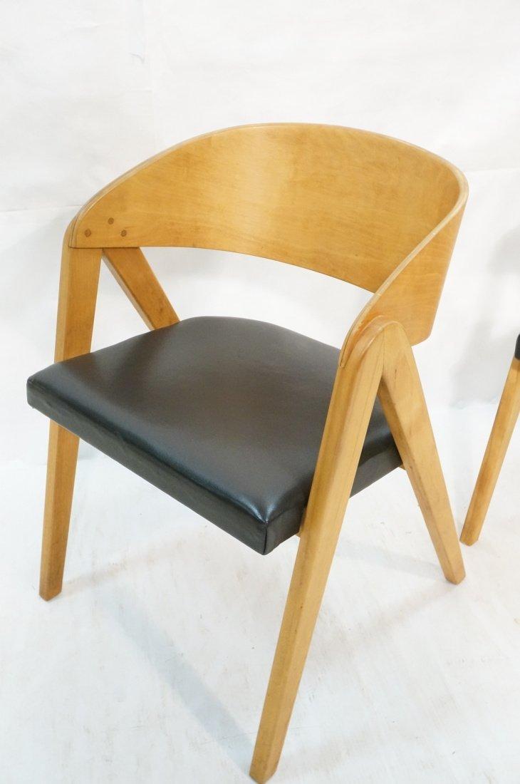 "Pr ALLAN GOULD ""Compass"" Lounge Chairs. - 2"