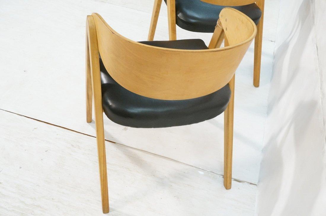 "Pr ALLAN GOULD ""Compass"" Lounge Chairs. - 5"