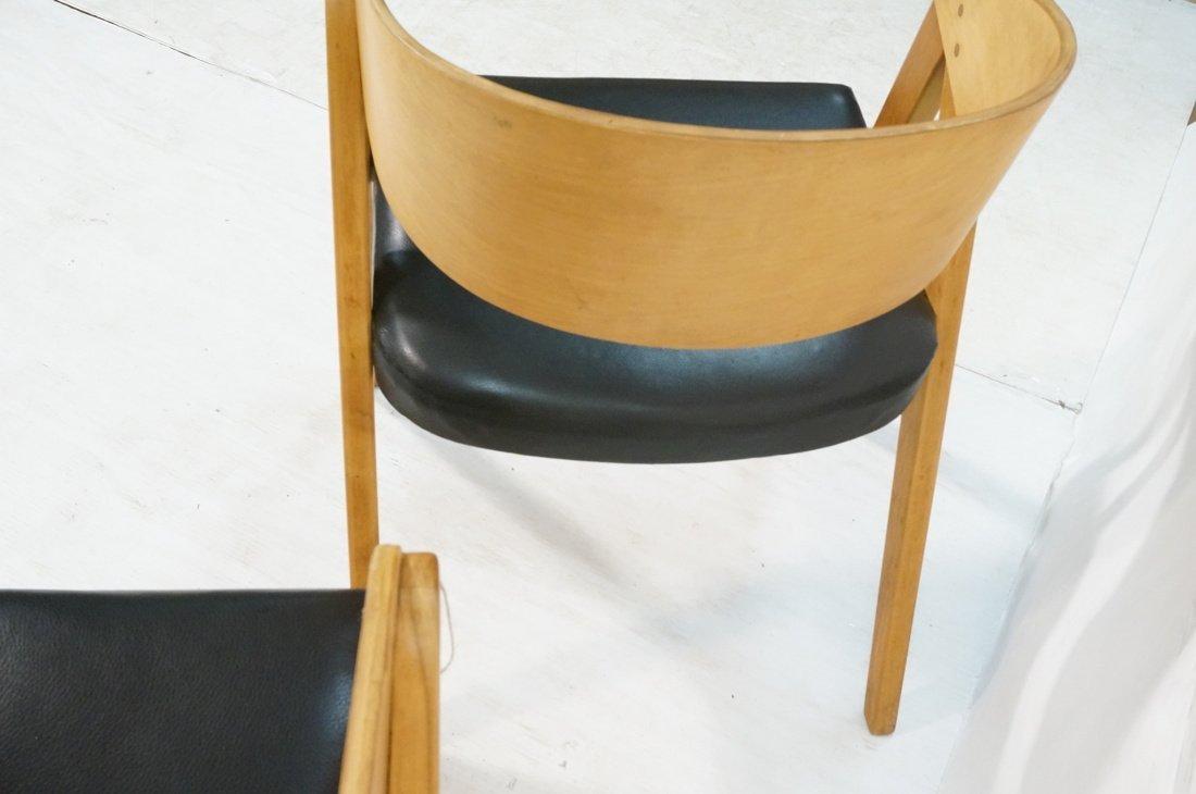 "Pr ALLAN GOULD ""Compass"" Lounge Chairs. - 6"