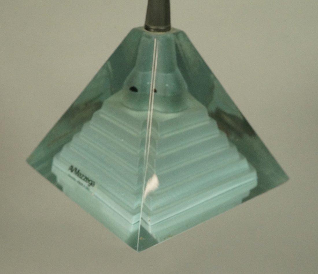 Hanging Pendant AV MAZZEGA Lamp. Murano Glass. It