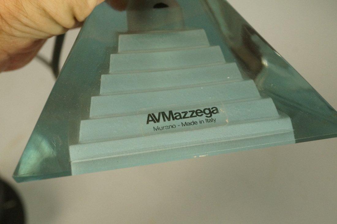 Hanging Pendant AV MAZZEGA Lamp. Murano Glass. It - 2