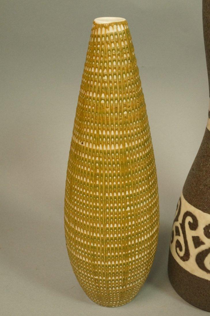 5pc Modernist Vase Lot. German, Italy Israel. Mos - 2