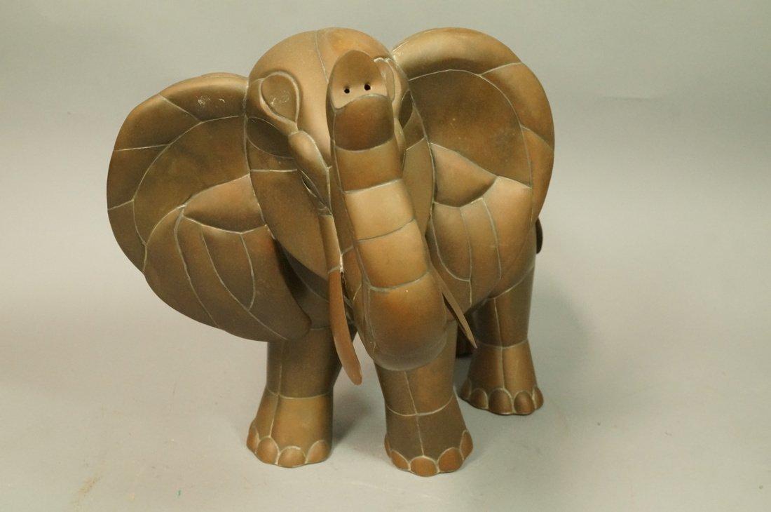 SERGIO BUSTAMANTE style  Elephant Sculpture. Figu - 2