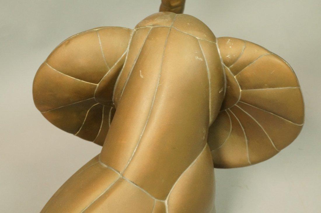 SERGIO BUSTAMANTE style  Elephant Sculpture. Figu - 4