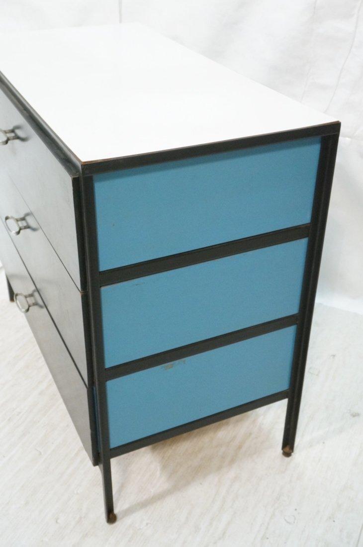HERMAN MILLER 3 Drawer Dresser Cabinet Chest. Bla - 3