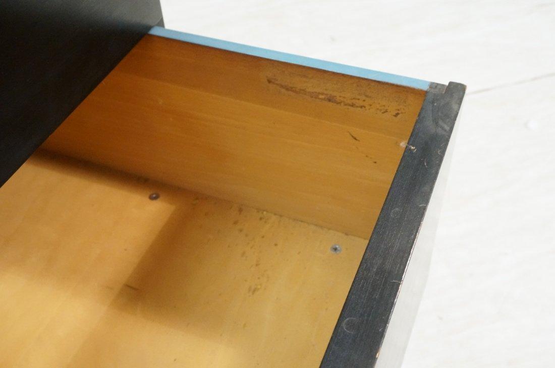 HERMAN MILLER 3 Drawer Dresser Cabinet Chest. Bla - 5