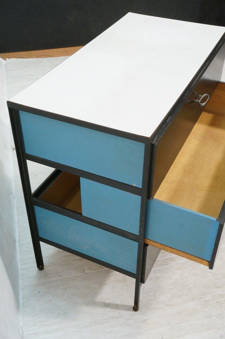 HERMAN MILLER 3 Drawer Dresser Cabinet Chest. Bla - 6