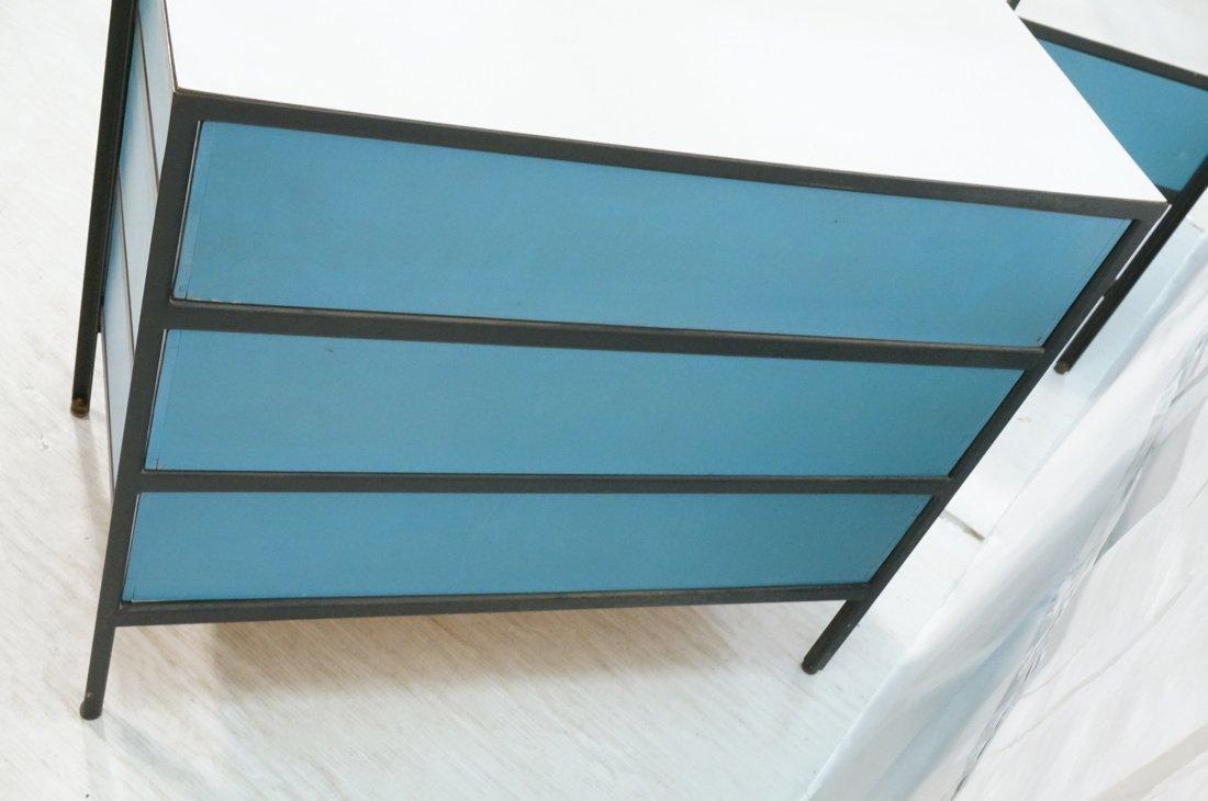 HERMAN MILLER 3 Drawer Dresser Cabinet Chest. Bla - 7