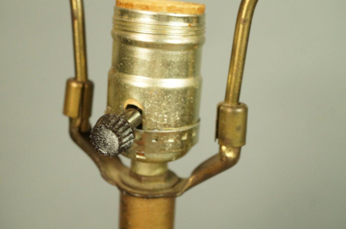 Murano Art Glass Lamp. Italian Modernist. Bottle - 8